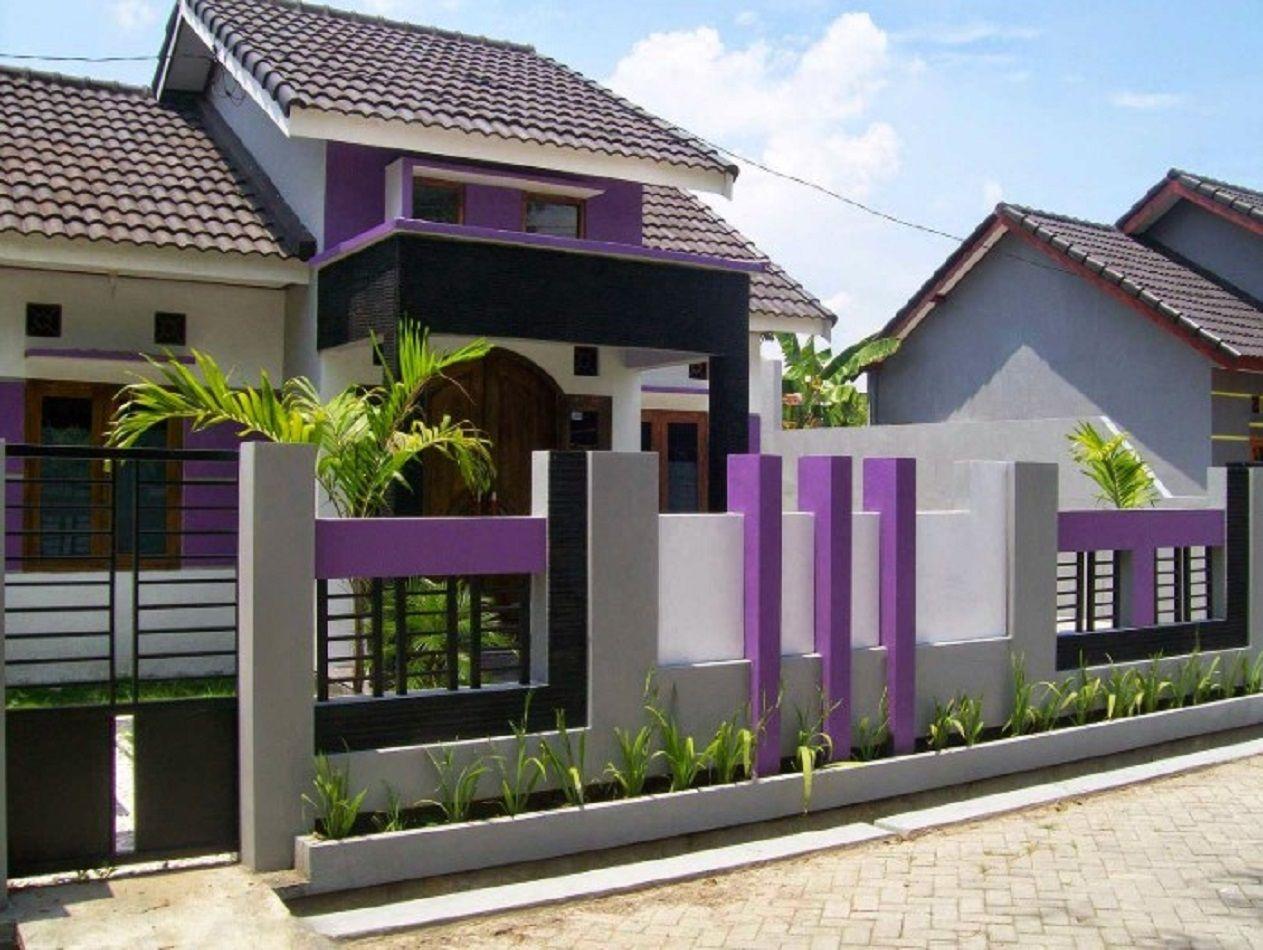 Desain Pagar Tembok Rumah Sederhana Cek Bahan Bangunan