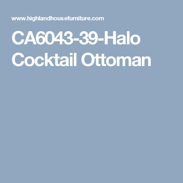 CA6043-39-Halo Cocktail Ottoman