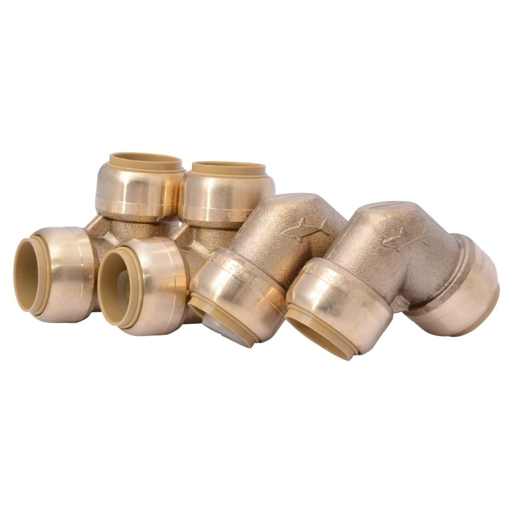 Sharkbite 3 4 In Push To Connect Brass 90 Degree Elbow Fitting 4