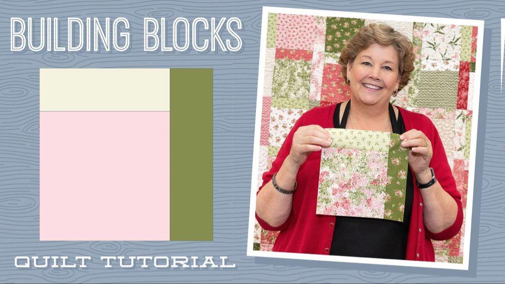 Make A Building Blocks Quilt With Jenny Doan Of Missouri Star Video T Quilt Block Tutorial Missouri Star Quilt Company Missouri Star Quilt Company Tutorials