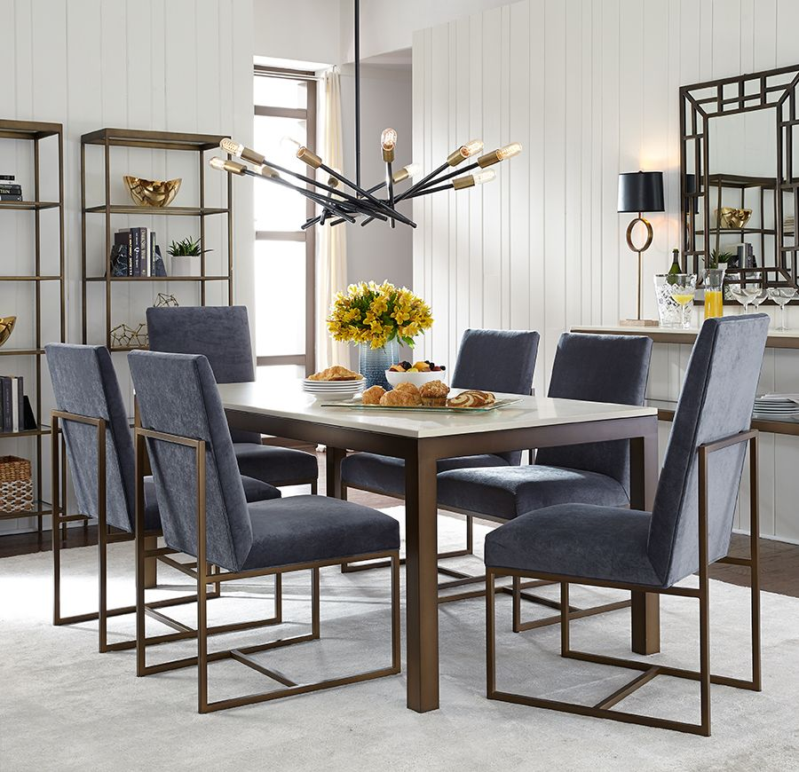 Shop Our Well Dressed GAGE LOW DINING CHAIR An Elegant Finishing Touch In Modern Classic Contemporary Style