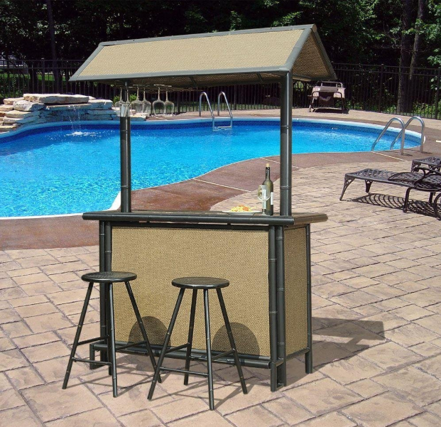 3 piece patio bar set. Plain Set Fiji 3Piece Patio Bar Set In 3 Piece A