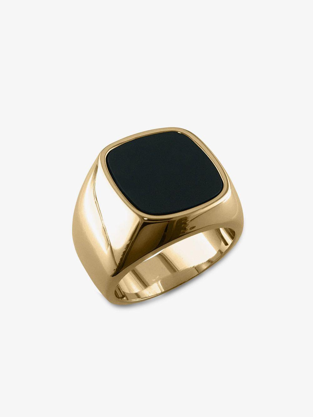 Mens ring vintage Rings men onyx ring Silver black ring Mens black stone ring Black gemstone ring Black signet ring Black onyx jewelry