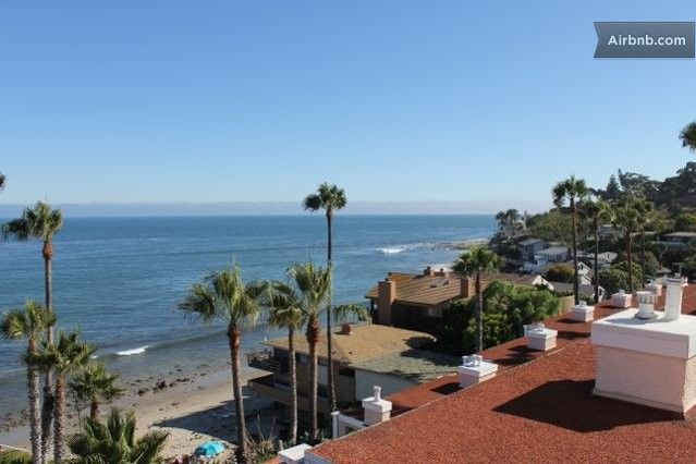Resort style apt right on the beach in Malibu: $209 on beach, https://www.airbnb.com/rooms/1356217
