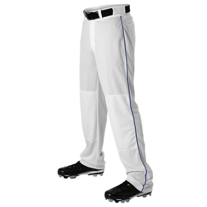 Majestic Boys Zipper Front Baseball Pant