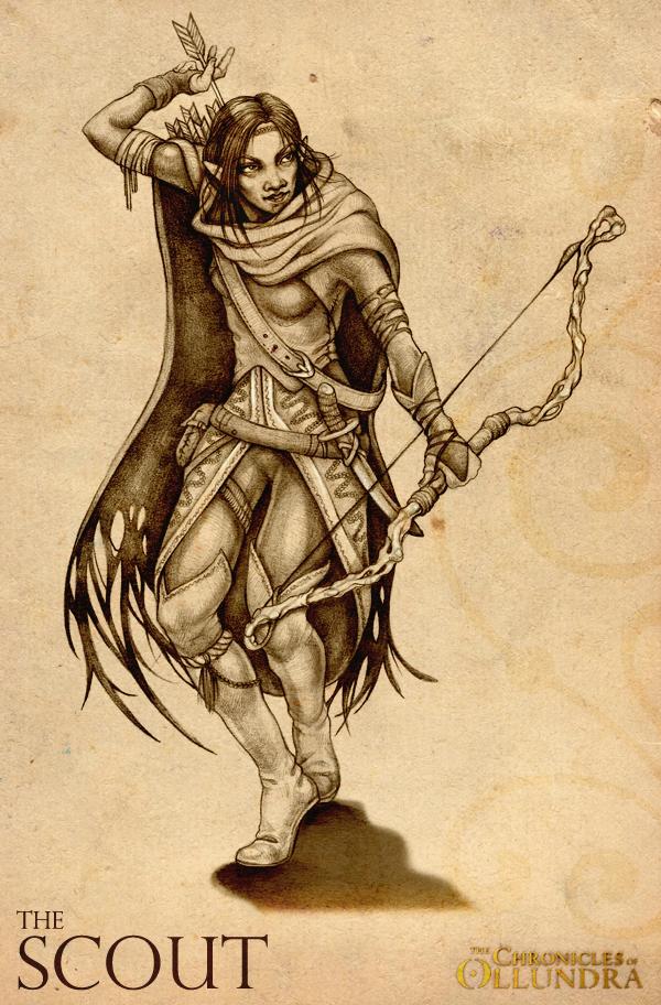 Chronicles of Ollundra by Karolina Szymkiewicz, via Behance