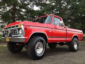 1976 Ford F150 4x4 Short Box Highboy 390 V8 79 Ford Truck Ford