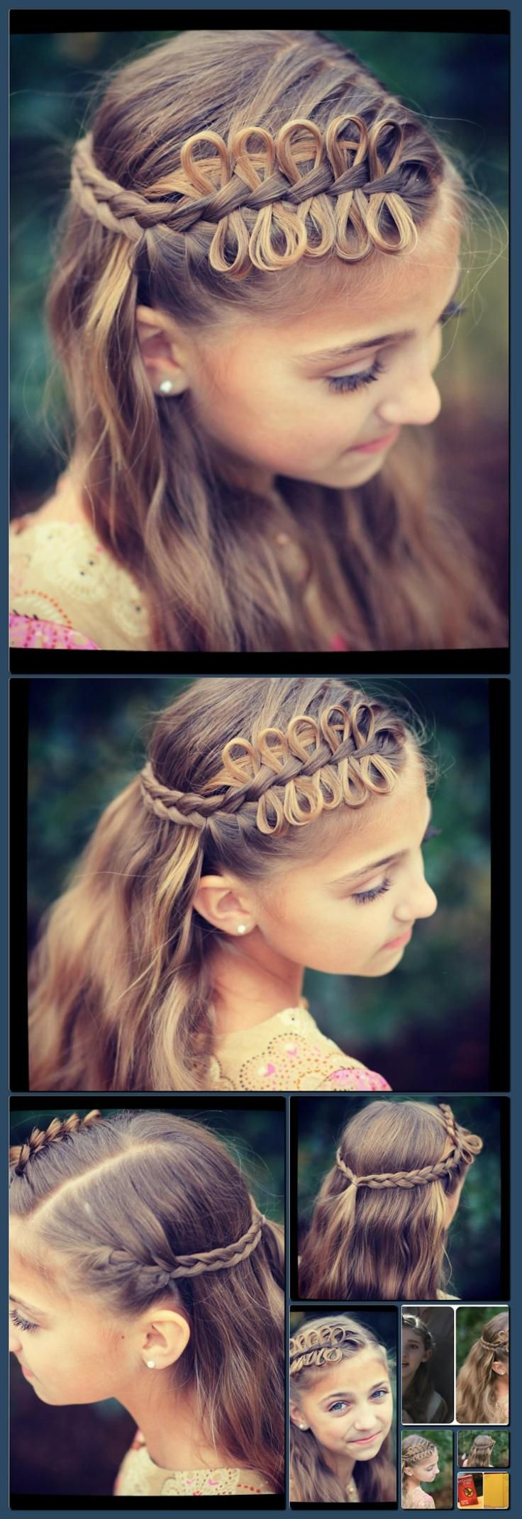 Hunger games hairstyles cute girls hairstyles collage made with