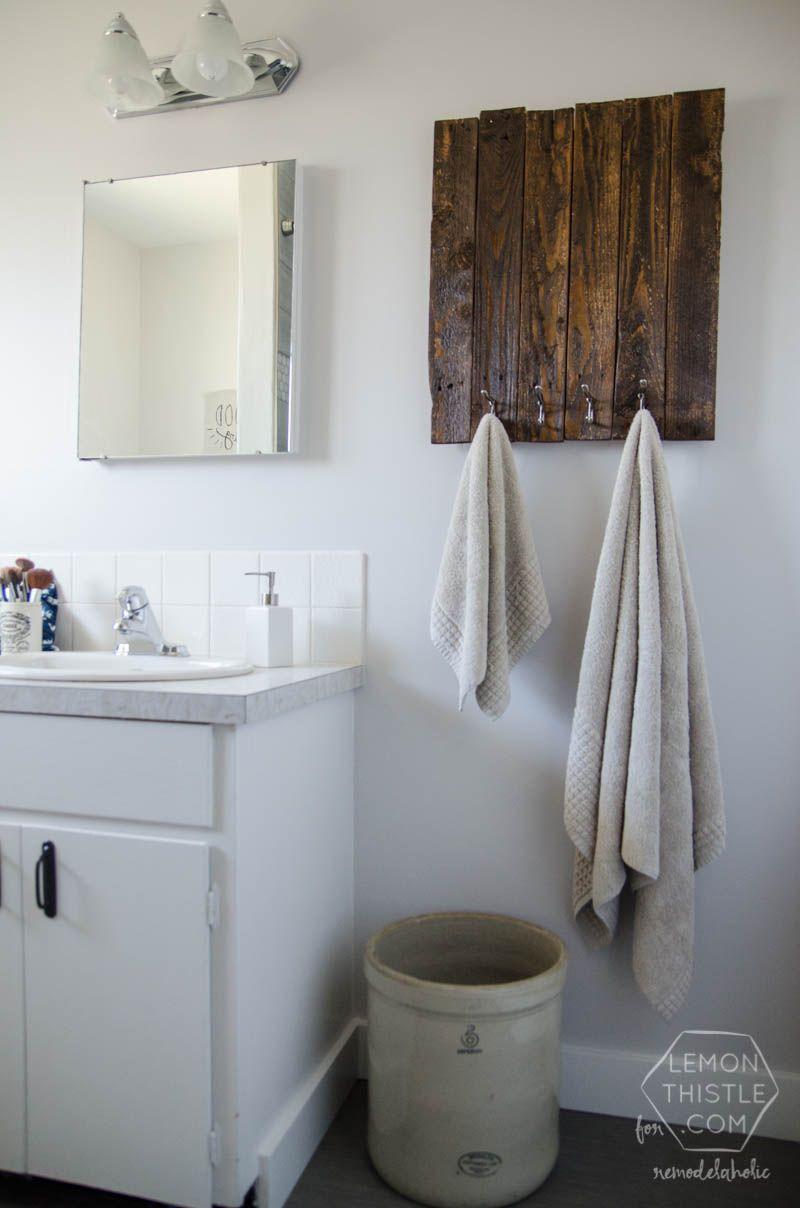 Accessoires Salle De Bain Bathroom ~ diy bathroom remodel ideas for average people pinterest