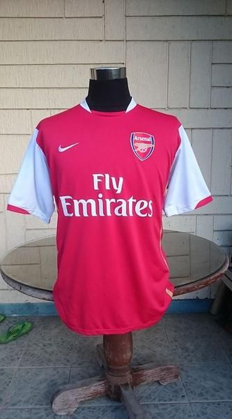 19847ef0965 ENGLISH PREMIER ARSENAL FC 2006-2008 LEAGUE CUP RUNNERS UP JERSEY NIKE SHIRT  CAMISETA