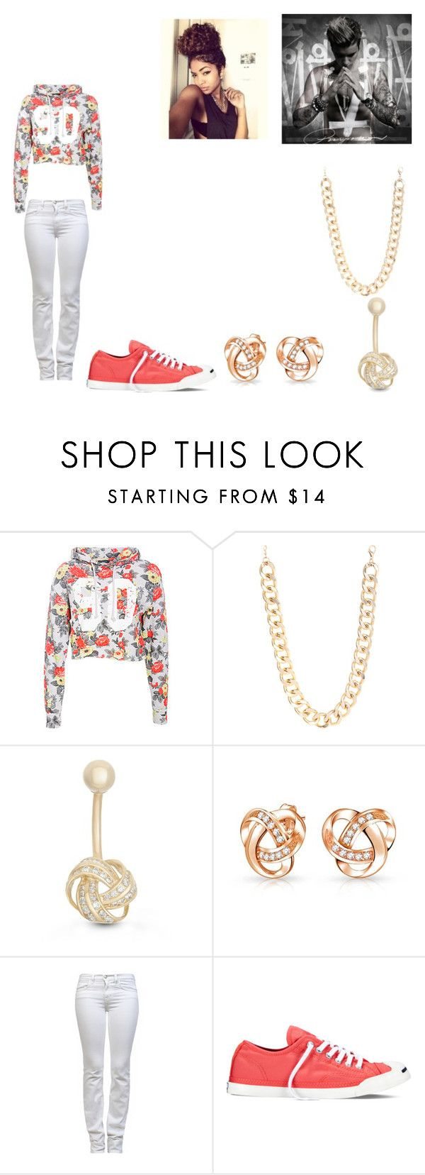 """Going to the Purpose Tour"" by princezz1438 ❤ liked on Polyvore featuring Justin Bieber, Jane Norman, Gioelli Designs, Bling Jewelry, J Brand, Converse, women's clothing, women's fashion, women and female"