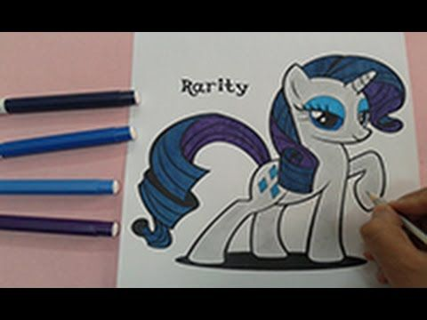 My Little Pony Coloring Pages Hd : Coloring books for kids how to color my little pony coloring