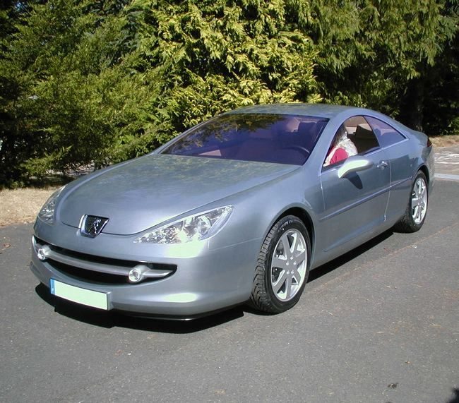 C 2002 Peugeot 607 Coupe Prototype Project Z9 By Carrosserie Heuliez Of Cerizay France