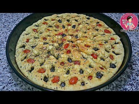 خبزة فوكاشيا الايطالية رطبة كالقطن Pastry Food Breakfast