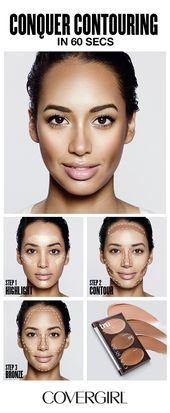 Photo of COVERGIRL shows you how to contour your face in 60 seconds! Follow COVERGIRL'S ….
