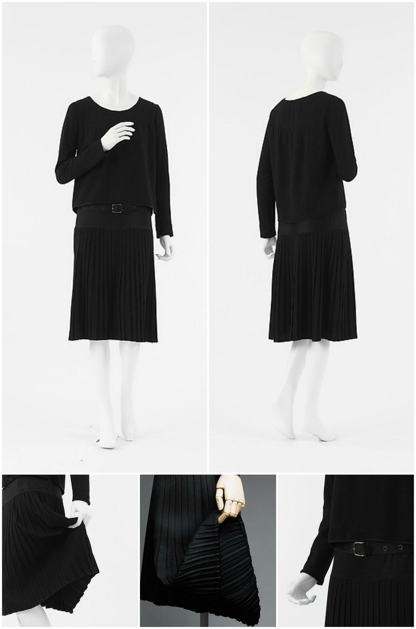 1926 Chanel Little Black Dress Metmuseum