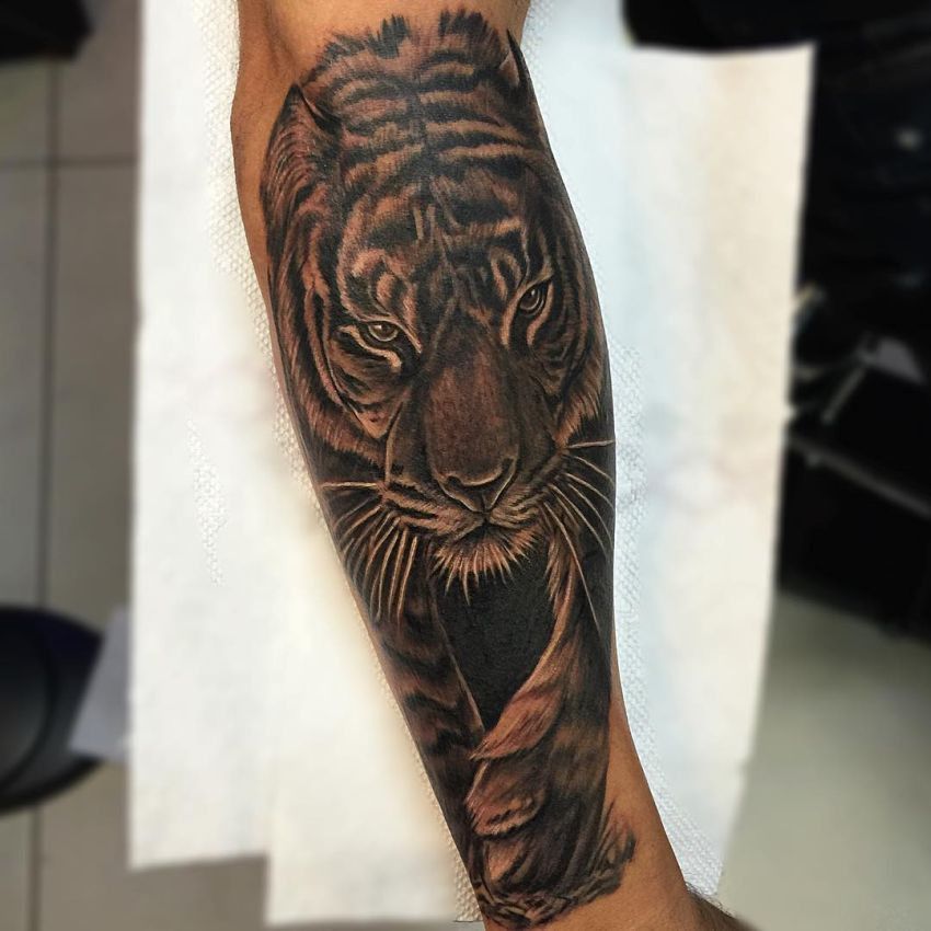Photo Realism Tattoo Black And Grey