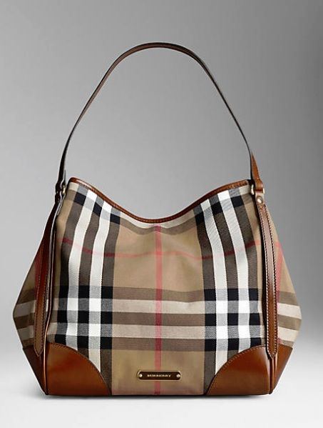 Burberry Medium Bridle House Check Bag  46777ba4af2c9