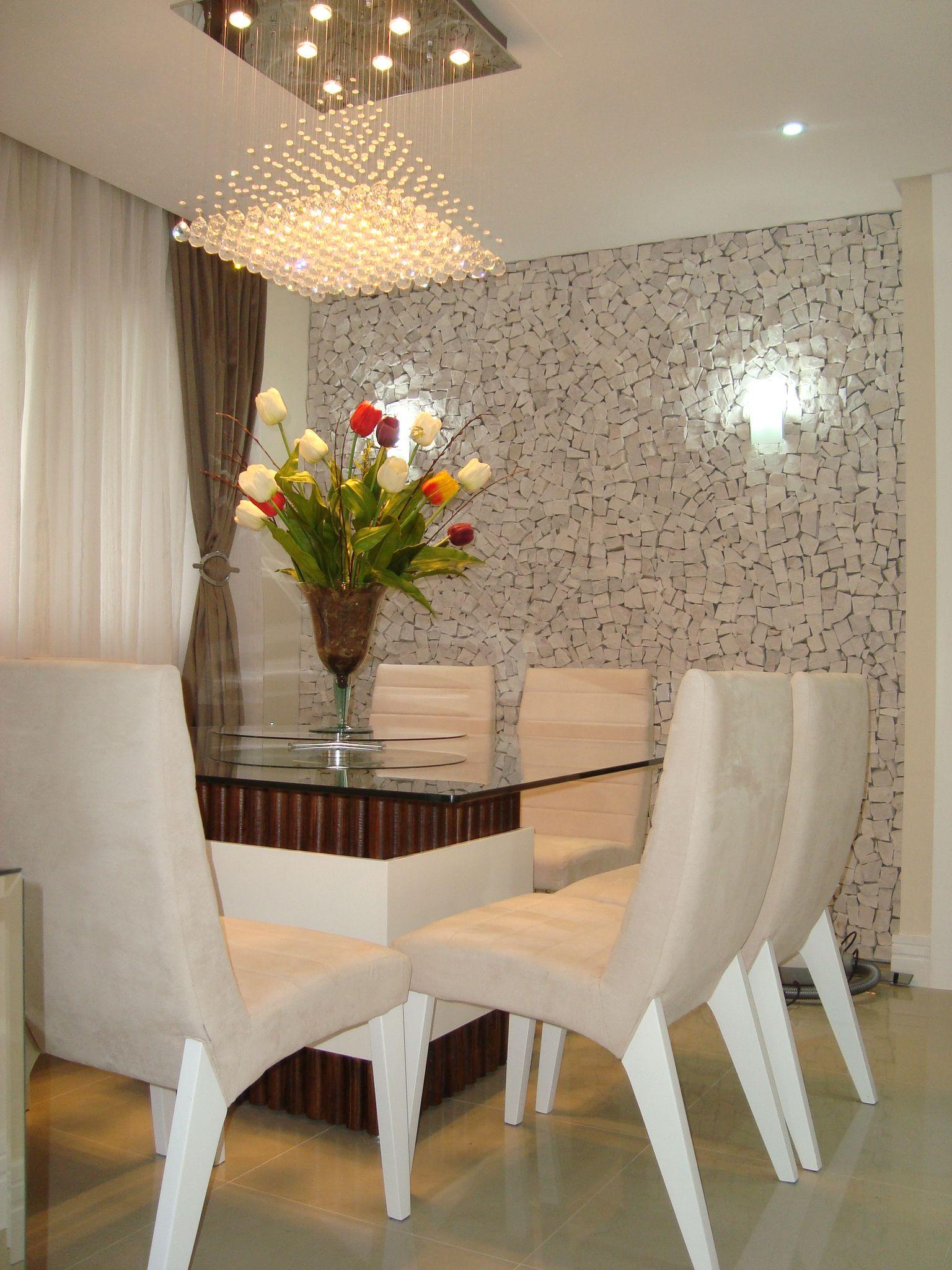 Deixe sua parede mais bonita salons and room - Paredes de agua para interiores ...