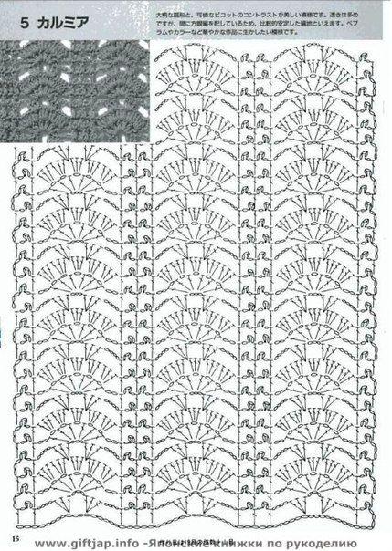 Pin von Margarita Corchado auf Crochet pattern Charts | Pinterest ...