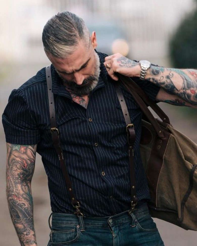 Ditch The Hoodie Men S Rugged Style 26 Photos Suburban Men Mens Fashion Rugged Mens Fashion Rugged Style
