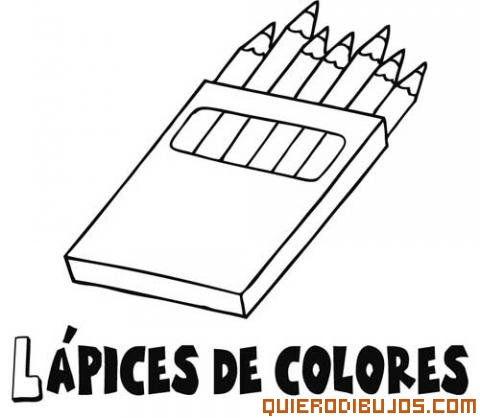 caja de colores para colorear - Buscar con Google   Para el colegio ...