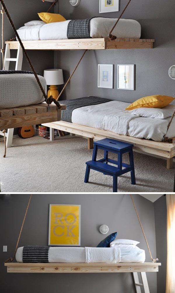 Decoraci n habittaciones ni os escarabajos bichos y - Muebles infantiles para habitaciones pequenas ...