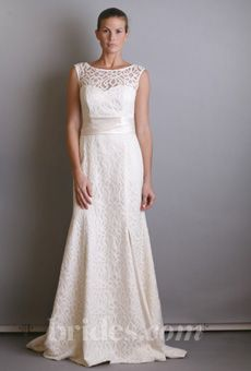 The Dessy Group - Spring 2013 - Style 1041 Sleeveless Modern Lace ...