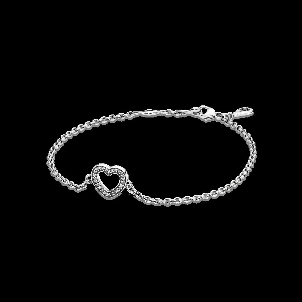 Pandora Symbol Of Love Clear Cz Jewelry Pinterest Bracelets