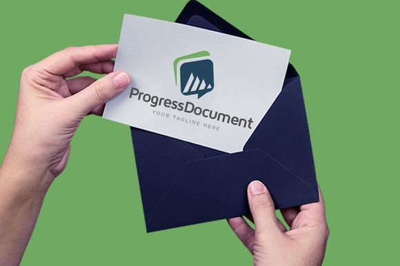 Progress Document by legendlogo on @creativemarket