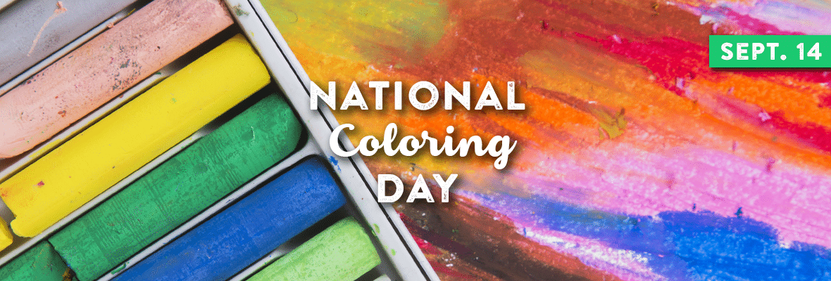 NATIONAL COLORING DAY September 14, 2020 Color, Day
