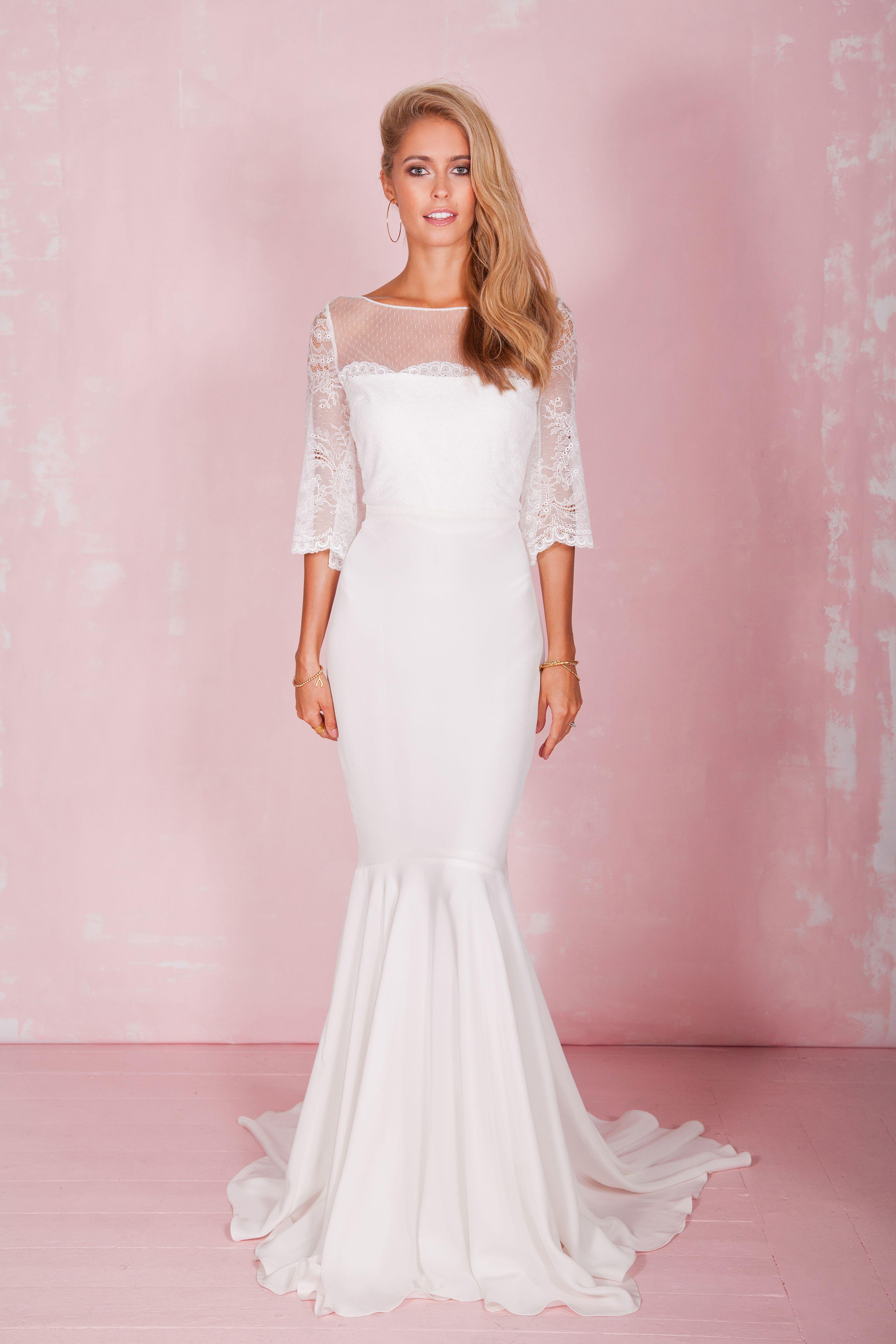 Rosie dress celebrities in pinterest wedding dresses