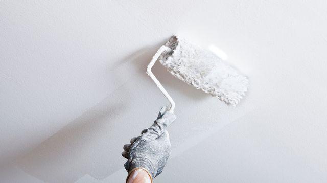 Peindre un plafond peinture Pinterest - comment peindre le plafond