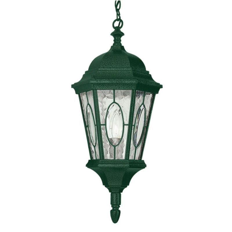 Cambridge 1 Light Verde Green 21 In Outdoor Hanging Lantern With