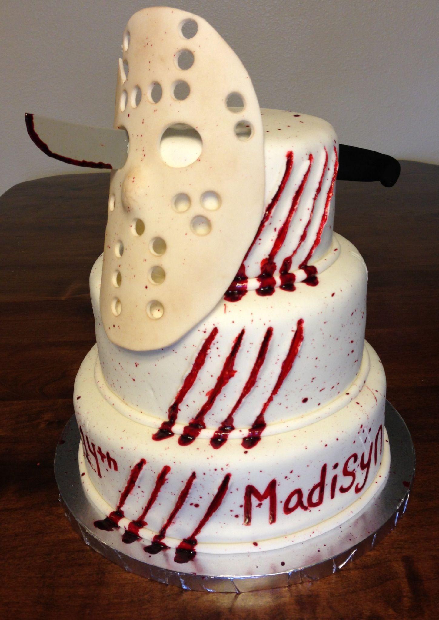 Friday the 13th cake Cake Pinterest