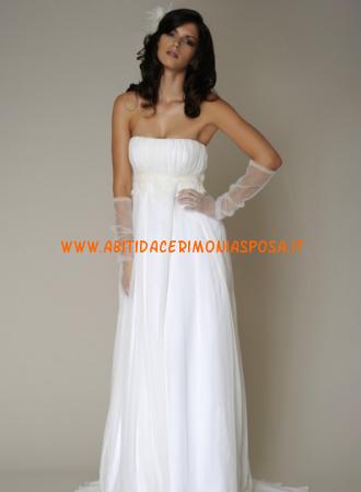online retailer 8d44d 20074 semplici ed eleganti senza spalline abiti bianchi da sposa i ...