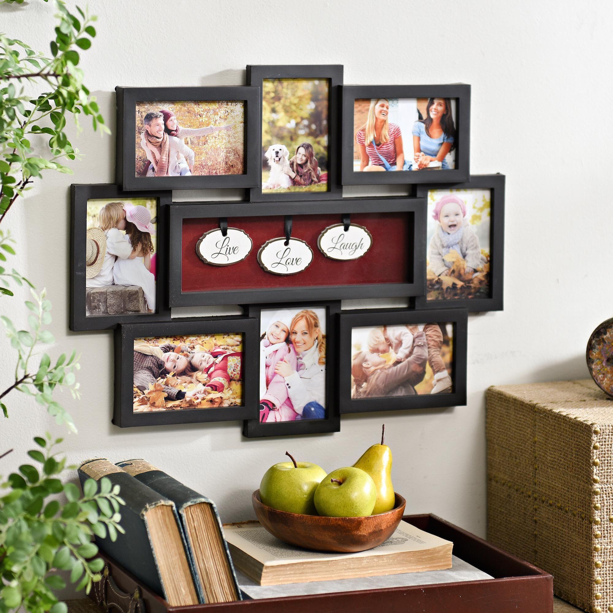 Live Love Laugh Shadowbox Black Collage Frame Displays Pinterest