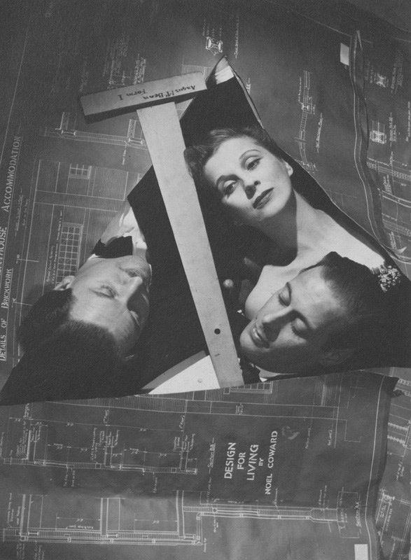 December 1939 Rex Harrison Diana Wynyard And Anton