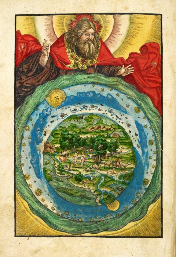 The Garden of Eden, from Biblia, das ist, die gantze Heilige ...