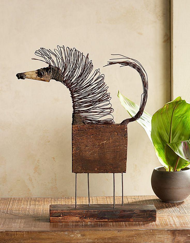 Horsemania sculpture - #Horsemania #metall #Sculpture #recycledart