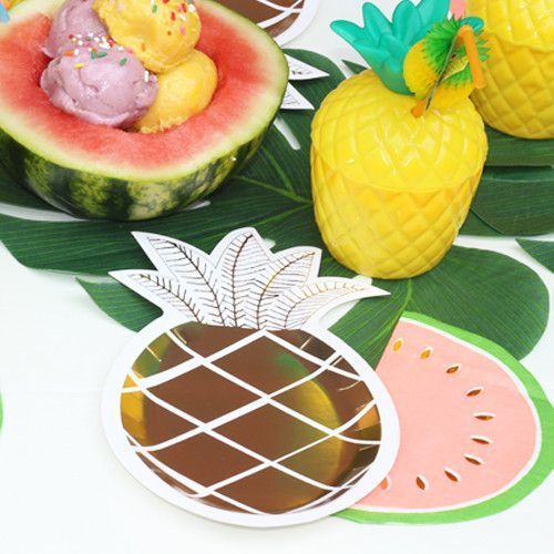 Tropical Party Supplies for a fun Summer Party.