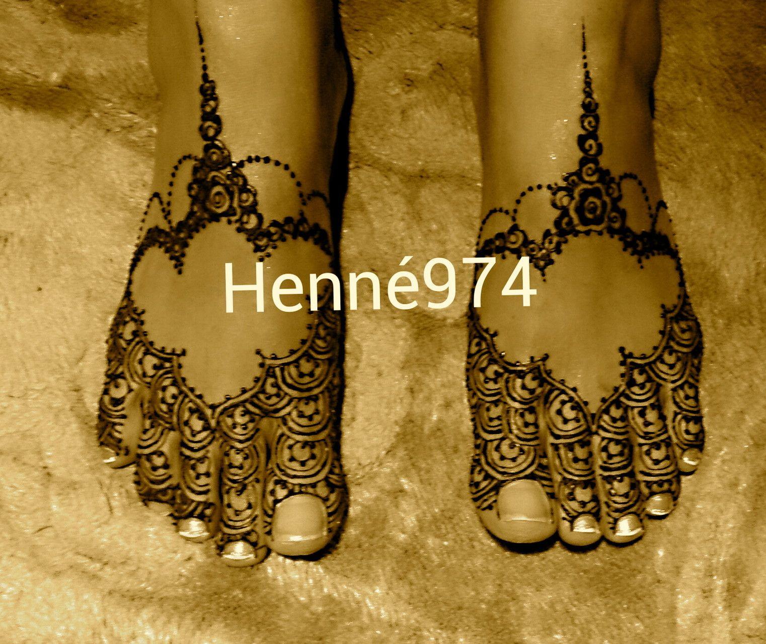 henna pieds