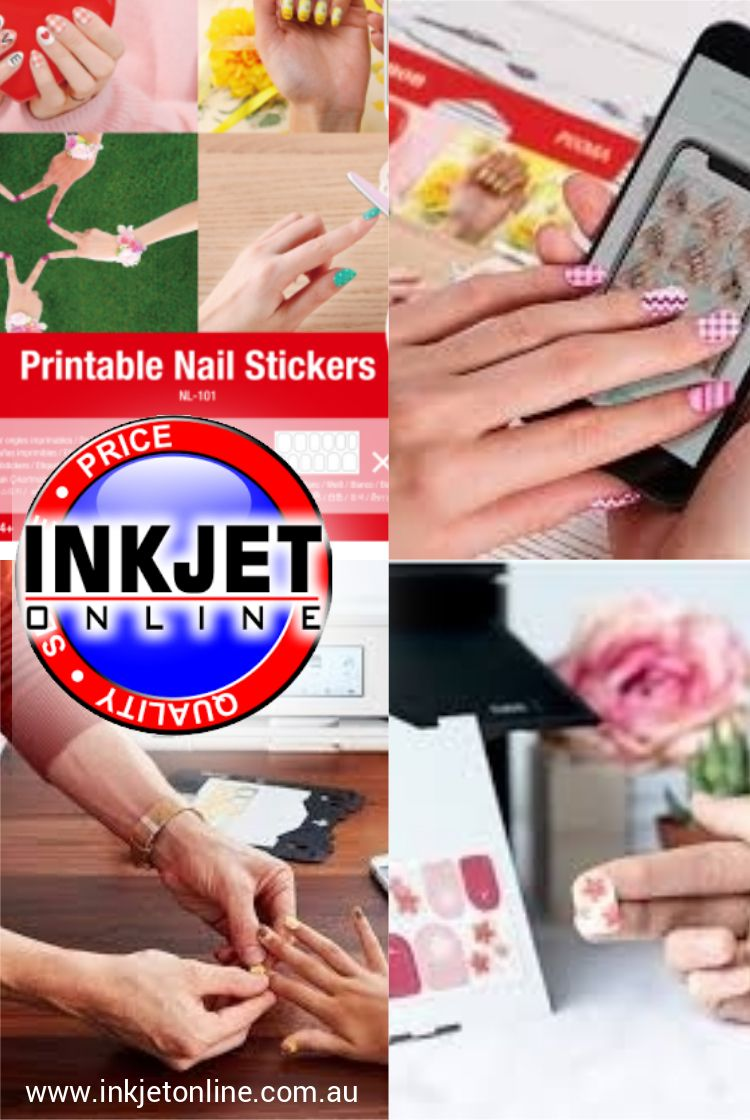 Canon NL101 Printable Nail Stickers 2 sheets in 2020