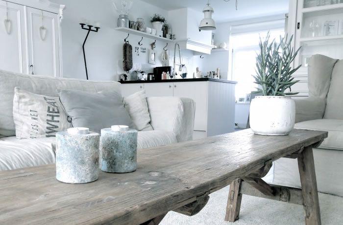Brocante Woonkamer Inrichten : Liefde voor brocante de woonkamer