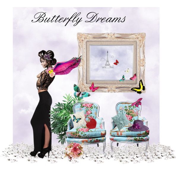 Butterfly Dreams, created by pricelessdillyn on Polyvore