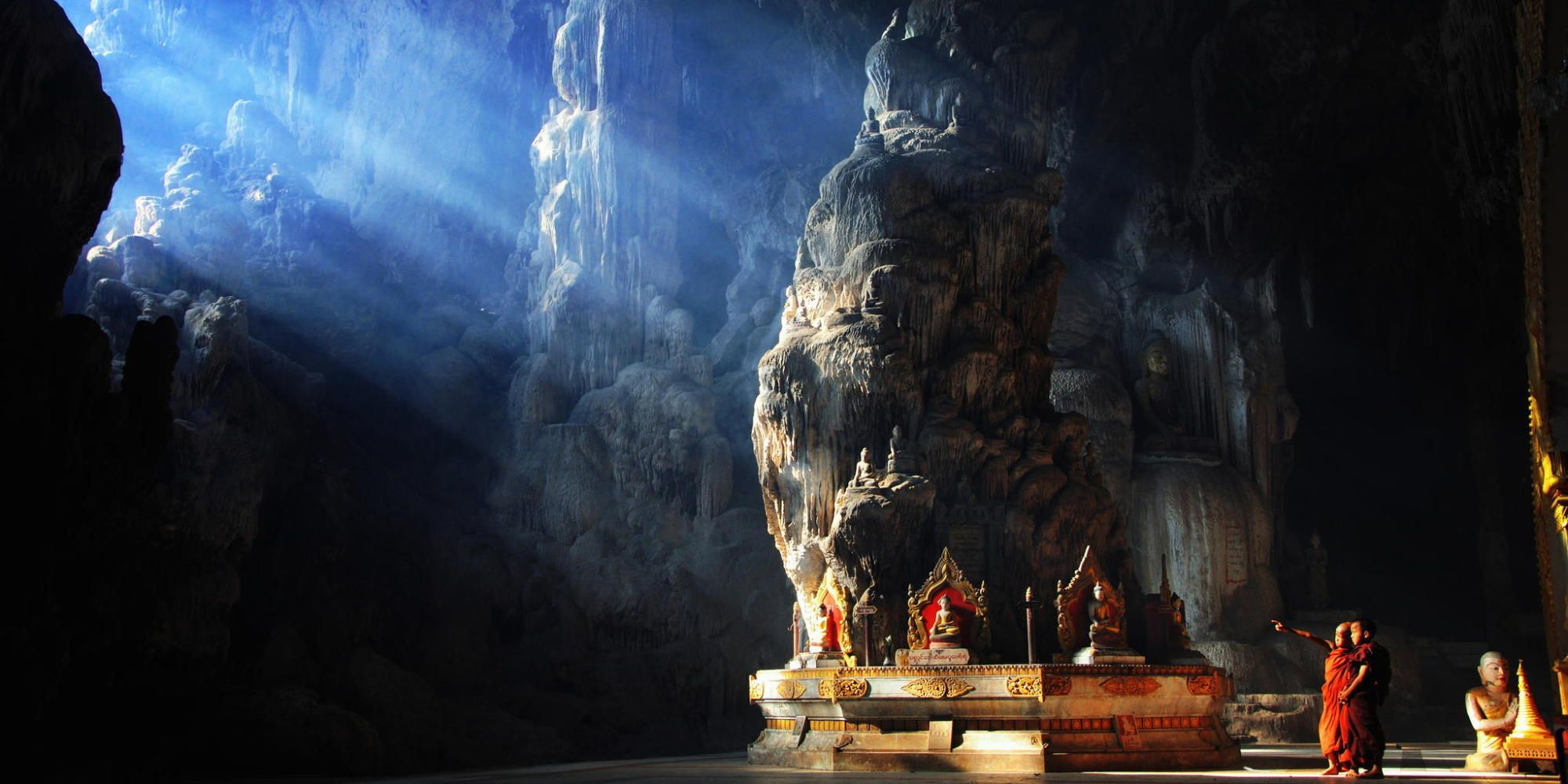 PHOTOS: Buddhist Cave Temples