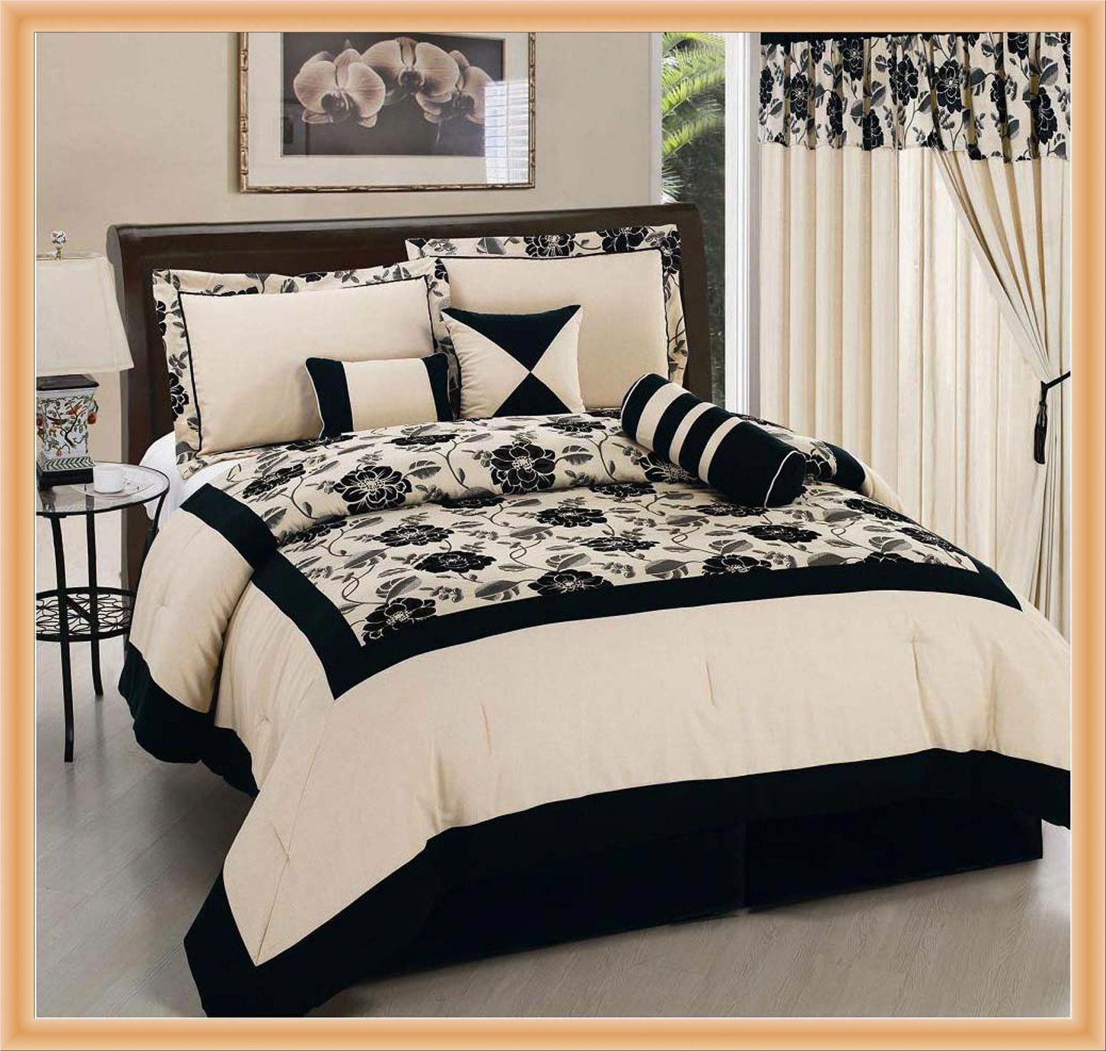 Black And Cream Duvet Sets 14 Fascinating Black And Cream Bedding Photograph Design