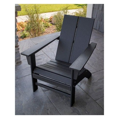 Polywood St Croix Contemporary Adirondack Chair The Great