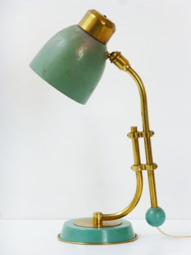 Jacques Biny Lampe A Poser 1950 Vintage Rockabilly Pure 50 S French Desk Lamp Luminaire Lampe De Bureau Lamp