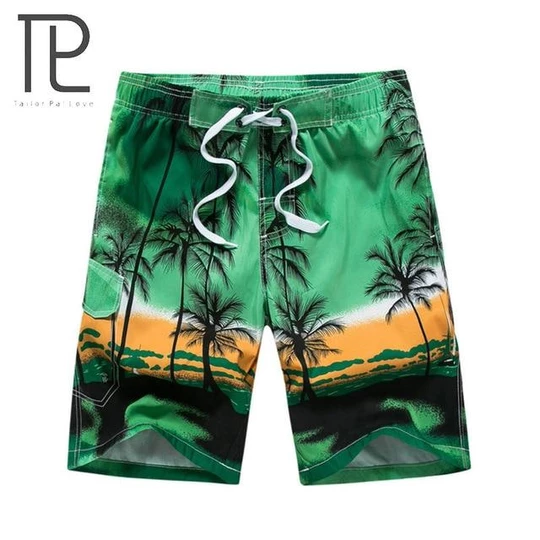 NREALY Shorts Mens Striped Swimwear Running Surfing Sports Beach Shorts Trunks Board Pants